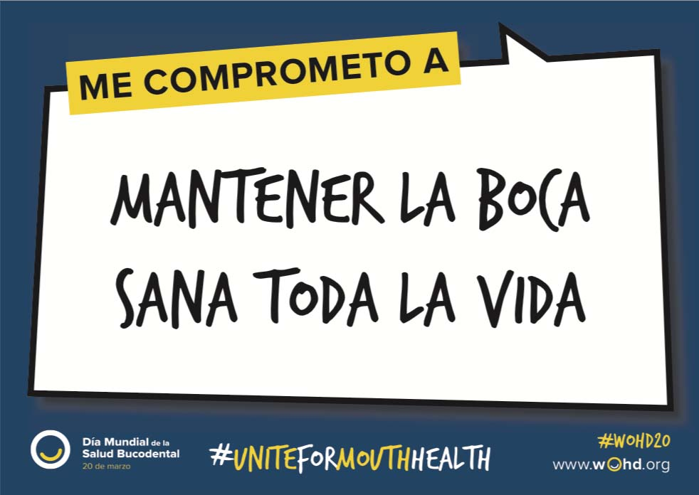 Comprométete e inspira a los demás en el Día Mundial de la Salud Bucodental